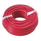 Fil H07 V-R 6 mm² Dhome - Longueur 10 m - Rouge