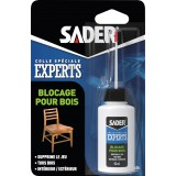 Colle blocage pour bois Sader - Flacon 50 ml
