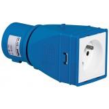 Adaptateur industriel/domestique Legrand - 2P+T