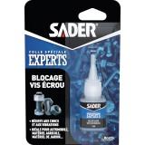 Colle blocage vis / écrous Sader - Flacon 5 ml