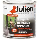 Laque antirouille Julien - Blanc brillant - Boîte 250 ml