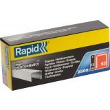 Agrafe n°53 Rapid Agraf - Hauteur 12 mm - 2500 agrafes