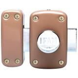 Verrou de sureté à bouton Ifam - Longueur 45 mm