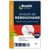 Enduit poudre de rebouchage Bostik - Boîte 1 kg
