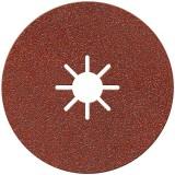 Disque alésage étoilé diamètre 22 mm SCID - Grain 80 - Vendu par 3