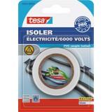 Ruban adhésif isolant électrique blanc - Tesa