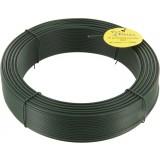 Fil de tension galvanisé plastifié Filiac - Longueur 100 m - Diamètre 2,4 mm - Vert
