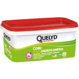 Colle tous papiers peints avec indicateur coloré Quelyd - Pot de 5 kg