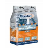 Ciment tous travaux Bostik - Gris - Sac 2,5 kg
