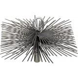 Hérisson carré acier plat SCID - Dimensions 250 x 250 mm