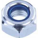 Ecrou hexagonal indesserrable acier zingué  - Diamètre 10mm - 100pces - Fixpro