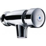 Robinet de lavabo mural - M 1/2' - Tempostop - Delabie