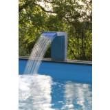 Cascade Straight LED pour piscine Ubbink