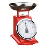 Balance de cuisine mécanique rouge OGO