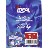 Teinture tissu main-machine Ideal - Sachet 15 g - Rouge n°1