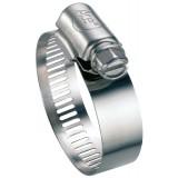 Collier à bande perforée W4 largeur bande 13 mm Ace - Diamètre 24 - 36 mm - Vendu par 25