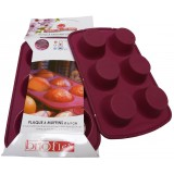 Plaque 6 muffins SIF - En silicone Sif
