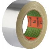 Ruban adhésif aluminium Barnier - Longueur 10 m - Largeur 50 mm