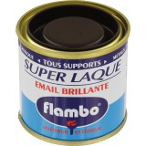 Laque brillante Flambo Flambo - 50 ml - Marron foncé