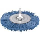 Brosse circulaire nylon bleu SCID - Diamètre 100 mm