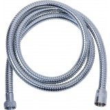 Flexible double agrafage chromé - anti-torsion - 1,5 m