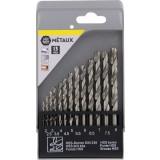 Coffret foret métaux standard Master Tools - 13 pièces