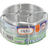 Bobinot galvanisé - Longueur 100 m - Diamètre 0,7 mm