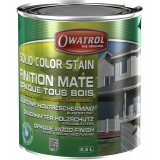 Laque de finition opaque mate décorative Owatrol - Gris antique - 2,5 l