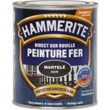 Peinture martelée Hammerite - Boîte 750 ml - Noir
