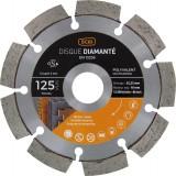 Disque diamanté polyvalent professionnel SCID - Diamètre 125 mm