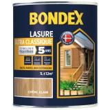 Lasure satinée ultra classique 5 ans Bondex - Chêne clair - Bidon 1 l