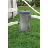 Pompe de filtration piscine Flowclear Bestway - Puissance 32 W - Débit 3028 l/h