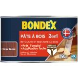 Pâte à bois 2 en 1 Bondex - Chêne foncé - 250 g