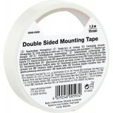 Ruban adhésif double face blanc intérieur - Largeur 19 mm - Longueur 1,5 m