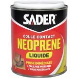 Colle contact néoprène liquide - Boîte métal 750 ml