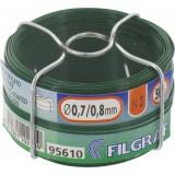 Bobinot plastique - Diamètre 0,8 mm - Vert