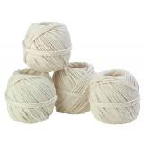 Cordeau coton câble Corderies Tournonaises - Longueur 55 m - Diamètre 1,5 mm - Vendu par 10