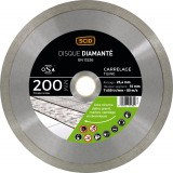 Disque diamanté carreleur professionnel SCID - Diamètre 200 mm