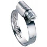 Collier bande non perforée W4 largeur bande 9 mm Ace - Diamètre 25 - 40 mm - Vendu par 25