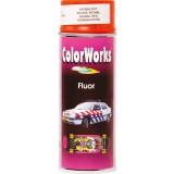 Peinture fluorescente Colorworks - Rouge orangé
