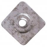Plaquette pour plaque fibre ciment - Longueur 40 mm - Largeur 40 mm - Epaisseur 7,5 mm - Vendu par 100