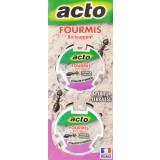 Fourmis appât Acto - 2 boîtes de 10 g