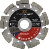 Disque diamanté ventillé béton métal SCID - Diamètre 125 mm