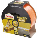 Adhésif super puissant Power tape Power Tape - Orange - Longueur 25 m