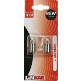 Ampoule automobile pour feux de position Linkar - R5W - 12 V - 5 W - Vendu par 2