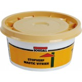 Mastic à base de lin - 1 kg - Mastic vitrier - Soudal
