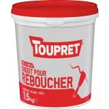 Enduit de rebouchage pâte Toupret  - 1,5 kg