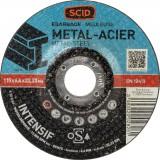 Disque à ébarber usage intensif SCID - Métaux - Diamètre 115 mm