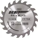 Lame au carbure pour scie circulaire SCID - Epaisseur 2,8 mm - 20 dents - Diamètre 150 mm - Alésage 20 mm