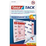 Pastille adhésive double face transparente XL Tesa - Vendu par 36